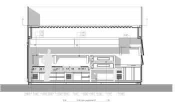 Container Restaurant Seccion Equipamiento