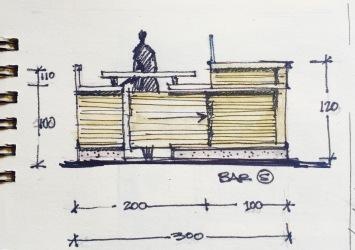 Green Bar Sketch 8