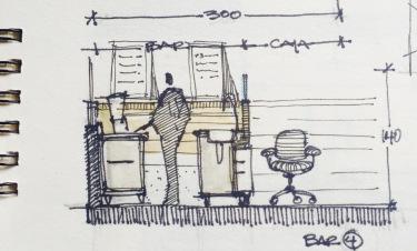 Green Bar Sketch 7