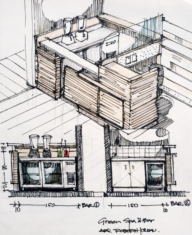 Green Bar Sketch 5