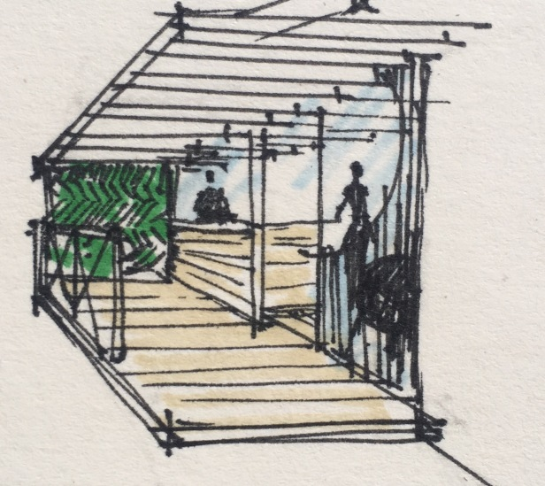 Green Bar Sketch 4