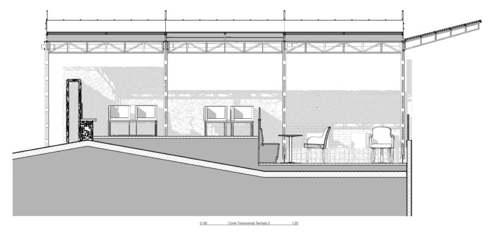 C06 - Corte Transversal Terraza