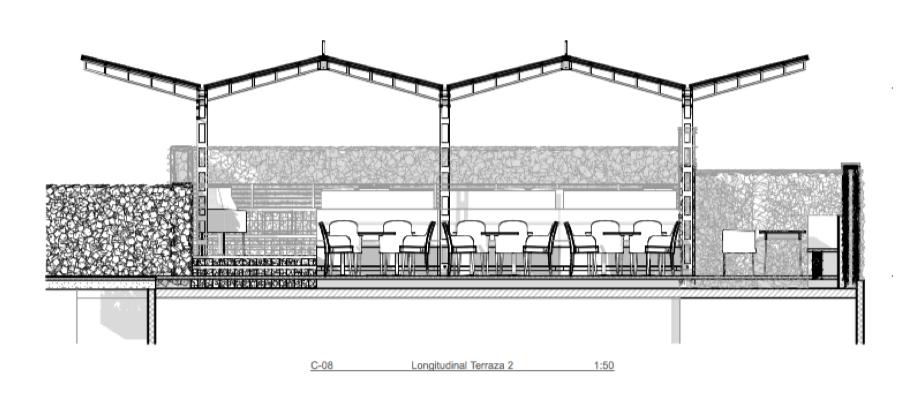 C08 - Corte Longitudinal Terraza