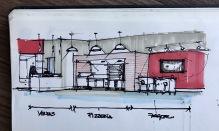 Sketch TotalChef Showroom 1-A