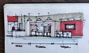 Sketch TotalChef Showroom 1-A