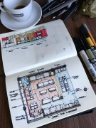 Sketch Plan TotalChef Showroom