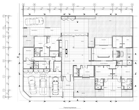 Sanz - Planta Arquitectura