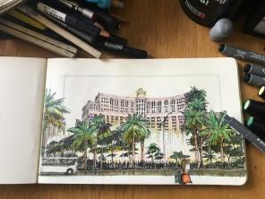Bellagio Sketch 1