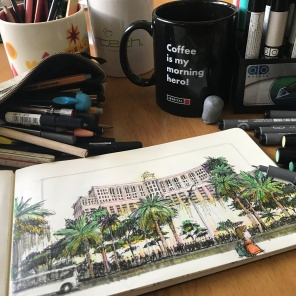 Bellagio Sketch 2