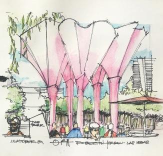 The Park Sketch