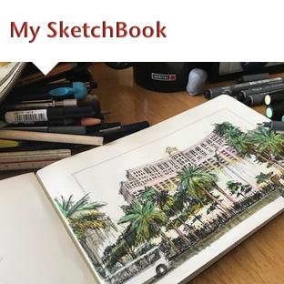 Thumbs My SketchBook