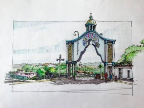 Arco Sta Rosa Sketch
