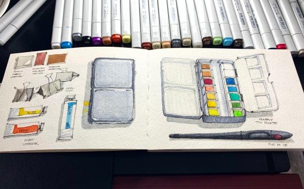 Travel Sketchbook 02