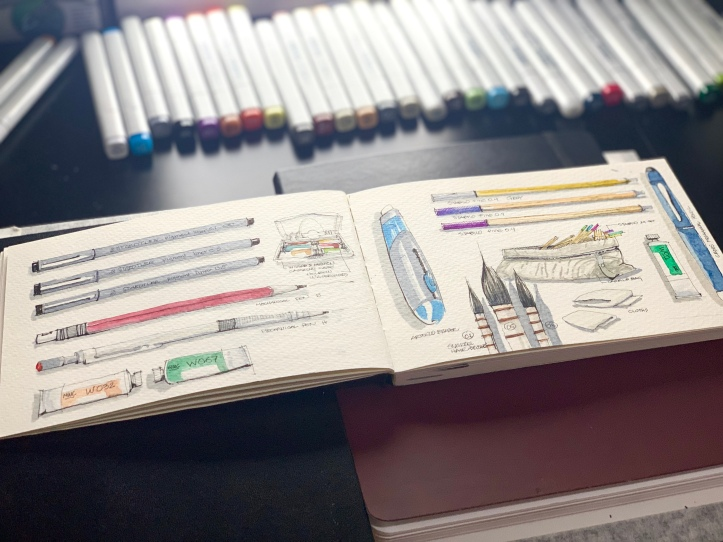 Travel Sketchbook 03