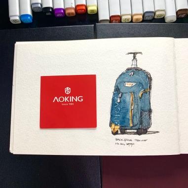 Travel Sketchbook 04