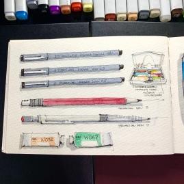 Travel Sketchbook 05